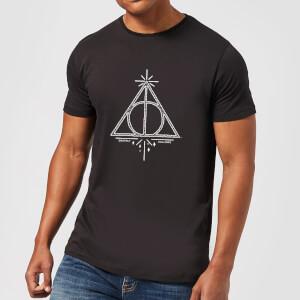Harry Potter Deathly Hallows Men's T-Shirt - Black