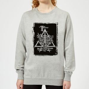 Harry Potter Three Brothers Women's Sweatshirt - Grey
