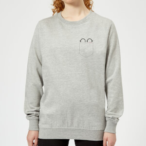 Harry Potter Harry Potter Pocket Glasses Women's Sweatshirt - Grey