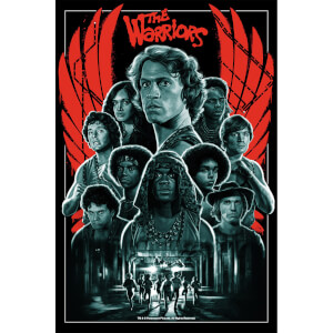The Warriors '40th Anniversary' Screenprint - Zavvi Exclusive