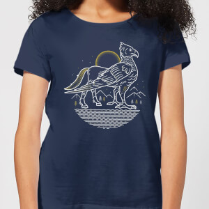 Harry Potter Buckbeak Women's T-Shirt - Navy