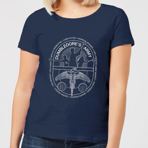 T-Shirt Harry Potter Dumblerdore's Army - Navy - Donna