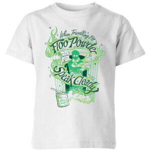 Harry Potter Floo Powder Kids' T-Shirt - White