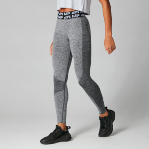 Myprotein Core Curve Leggings - Grey Marl