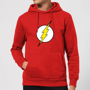 Justice League Flash Logo Hoodie - Red