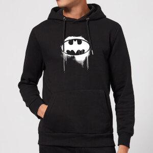 Justice League Graffiti Batman Hoodie - Black