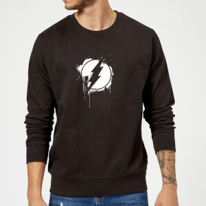Justice League Graffiti The Flash Sweatshirt - Black
