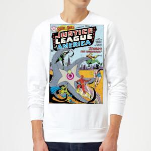 Justice League Starro The Conqueror Cover Sweatshirt - White