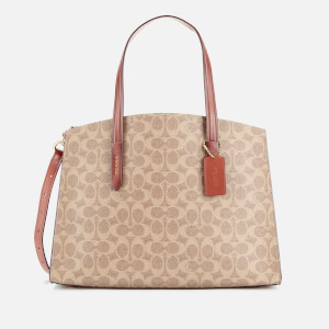 Coach Women's Signature Charlie Carryall Bag - Rust