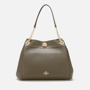 Coach Women's Turnlock Edie Shoulder Bag - Moss