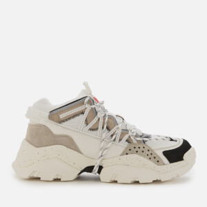 KENZO Men's Inka Chunky Running Style Trainers - Pale Grey