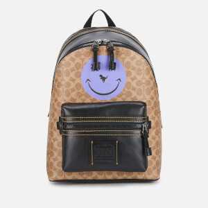 2a78d6dfa Coach Signature Smiley Academy Backpack with Rexy By Yeti Out - JI/Khaki