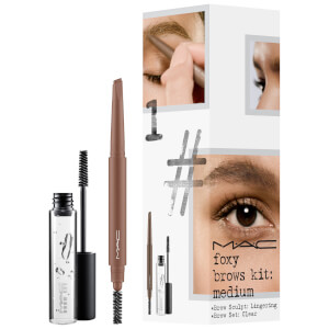 MAC Foxy Brows Exclusive Kit - Medium (Worth £33.00)