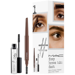 MAC Foxy Brows Exclusive Kit - Dark (Worth £33.00)