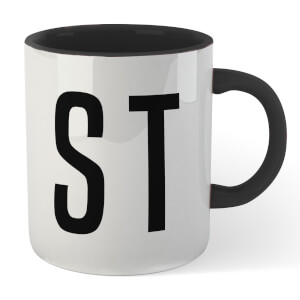 STD Mug - White/Black