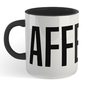 Caffeine Mug - White/Black