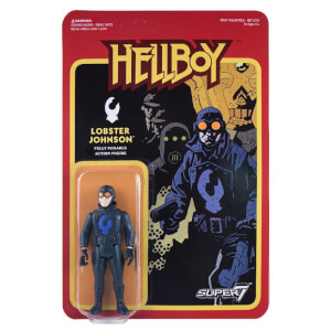 Super7 Hellboy Lobster Johnson ReAction Figure