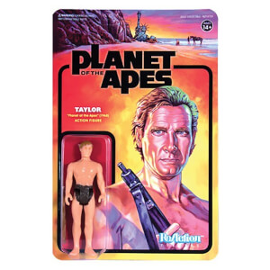 Super7 Planet of the Apes Wave 1 Taylor ReAction Figure