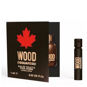DSquared2 Wood Pour Homme Eau de Toilette 1ml (Free Gift)