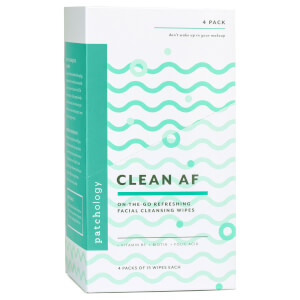 Patchology Clean AF On-the-Go Refreshing Facial Cleansing Wipes - 60 Count