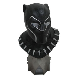 Diamond Select Black Panther Legends in 3D Bust 1/2 Black Panther 25 cm