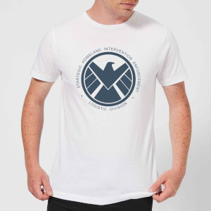 Marvel Avengers Agent Of SHIELD Logistics Division Men's T-Shirt - White