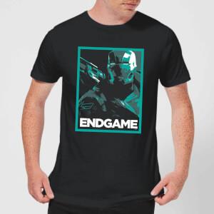 T-Shirt Avengers Endgame War Machine Poster - Nero - Uomo