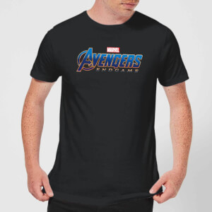 Avengers Endgame Logo Men's T-Shirt - Black
