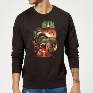 Marvel Incredible Hulk Dead Like Me Sweatshirt - Black