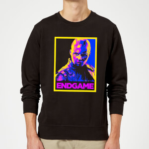 Avengers Endgame Nebula Poster Sweatshirt - Black