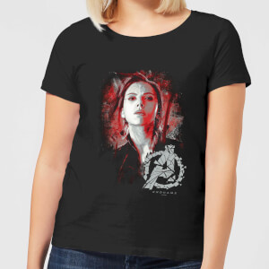 Avengers: Endgame Black Widow Brushed dames t-shirt - Zwart