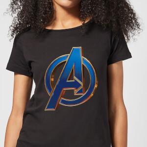 Avengers: Endgame Heroic Logo dames t-shirt - Zwart