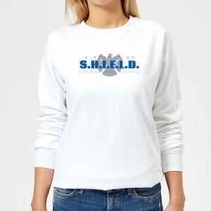 Marvel Avengers Director Of Shield Women's Sweatshirt - White