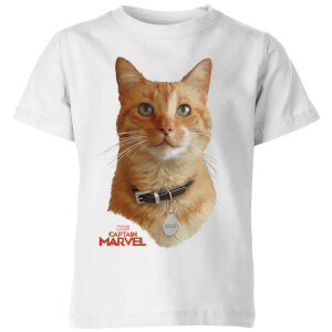 Captain Marvel Goose Kids' T-Shirt - White