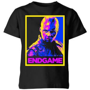 Avengers Endgame Nebula Poster Kids' T-Shirt - Black