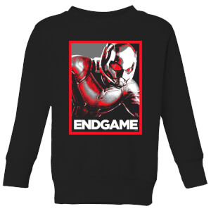 Avengers Endgame Ant-Man Poster Kids' Sweatshirt - Black