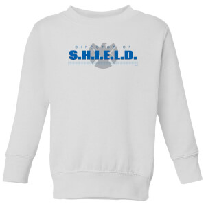 Marvel Avengers Director Of Shield Kids' Sweatshirt - White