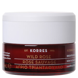 KORRES Natural Wild Rose Vitamin C Sleeping Facial Cream 40ml (Free Gift)