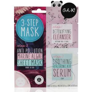 Oh K! 3-Step Anti-Pollution Marine Algae Sheet Mask 24ml