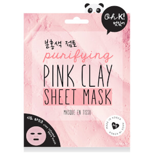 Oh K! Pink Clay Sheet Mask 18g