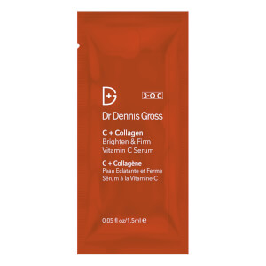 Dr Dennis Gross Skincare C+ Collagen Brighten and Firm Vitamin C Serum 1.5ml (Free Gift)