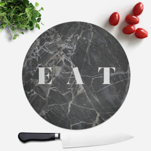 Eat Round Chopping Board