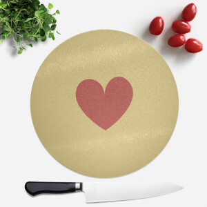 Biscuit Round Chopping Board