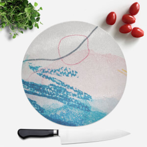 Wish Wash With Circle Round Chopping Board