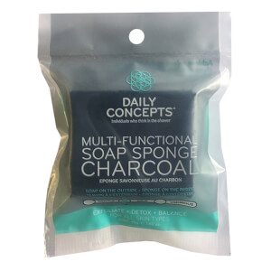 Daily Concepts Charcoal Facial Scrubber