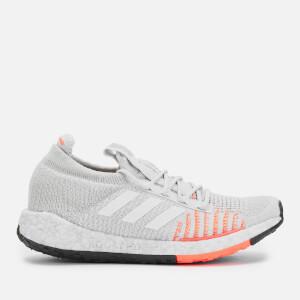 adidas Women's Pulse Boost HD Trainers - Grey/Orange