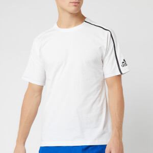 adidas Men's ZNE Short Sleeve T-Shirt - White