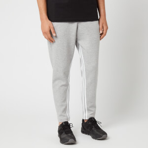 adidas Men's Mh 3 Stripe Sweatpants - Grey