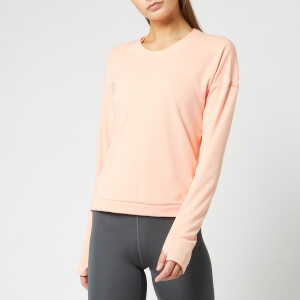 adidas Women's Supernova Run Crew Neck Top - Pink