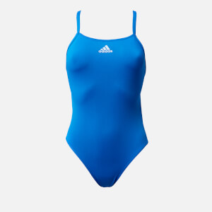 adidas Women's Perf Swim Inf+ Swimsuit - Blue